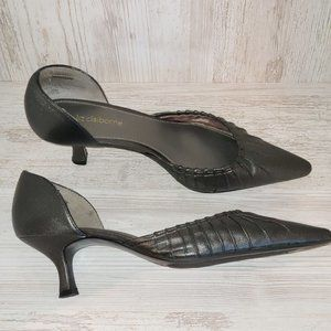 3/ $25 Liz Claiborne Leather Pointed Toe Low Heels